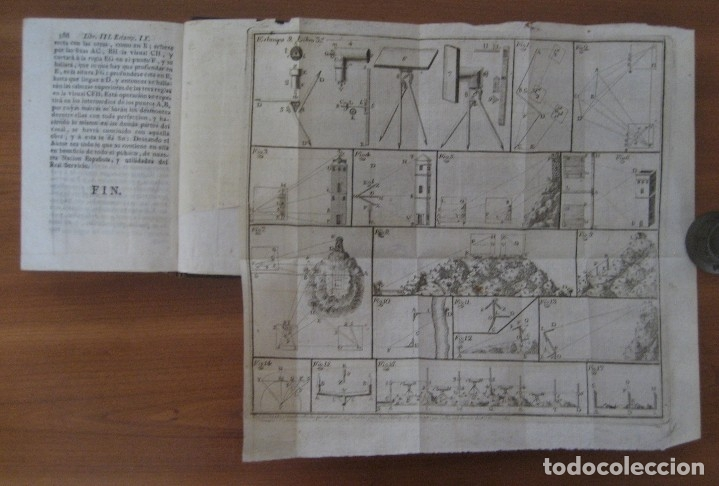 Libros antiguos: EL ARQUITECTO PRÁCTICO, CIVIL, MILITAR, Y AGRIMENSOR, DIVIDIDO EN TRES LIBROS. (2ª IMPRESIÓN, 1793). - Foto 20 - 122206267