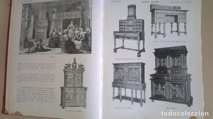Libros antiguos: Libro.French interiors,furniture,decoration.Medida 24x30 cm.400 pg - Foto 7 - 123286167