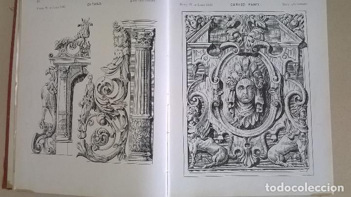 Libros antiguos: Libro.French interiors,furniture,decoration.Medida 24x30 cm.400 pg - Foto 8 - 123286167