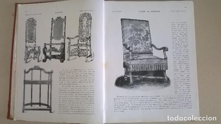Libros antiguos: Libro.French interiors,furniture,decoration.Medida 24x30 cm.400 pg - Foto 11 - 123286167