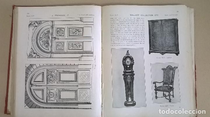 Libros antiguos: Libro.French interiors,furniture,decoration.Medida 24x30 cm.400 pg - Foto 17 - 123286167