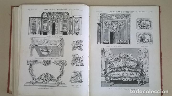 Libros antiguos: Libro.French interiors,furniture,decoration.Medida 24x30 cm.400 pg - Foto 18 - 123286167