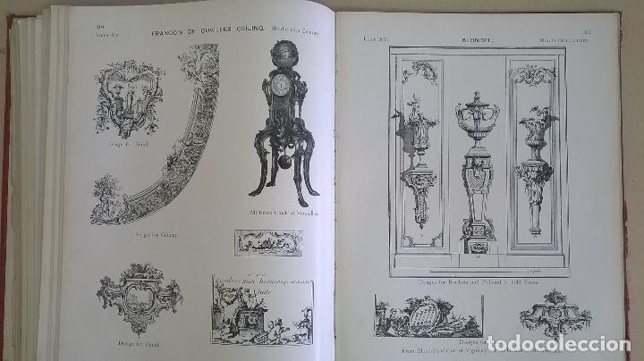 Libros antiguos: Libro.French interiors,furniture,decoration.Medida 24x30 cm.400 pg - Foto 23 - 123286167