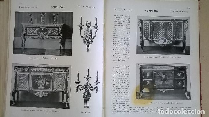 Libros antiguos: Libro.French interiors,furniture,decoration.Medida 24x30 cm.400 pg - Foto 24 - 123286167