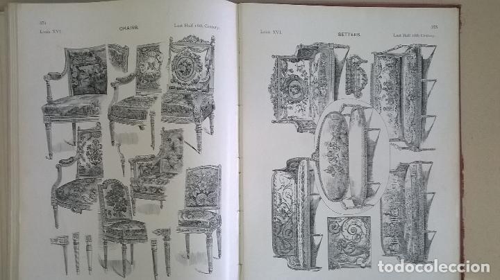 Libros antiguos: Libro.French interiors,furniture,decoration.Medida 24x30 cm.400 pg - Foto 25 - 123286167