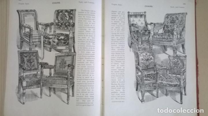 Libros antiguos: Libro.French interiors,furniture,decoration.Medida 24x30 cm.400 pg - Foto 26 - 123286167