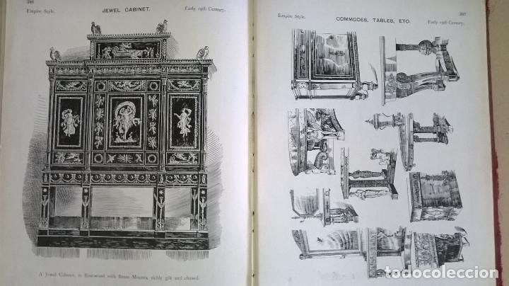 Libros antiguos: Libro.French interiors,furniture,decoration.Medida 24x30 cm.400 pg - Foto 27 - 123286167
