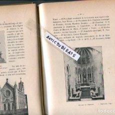 Libros antiguos: LIBRO ARQUITECTURA AÑO 1903 ARQUITECTO JOAN JUAN MARTORELL PALACIO EN COMILLAS GRANOLLERS PORT BOU . Lote 124259007