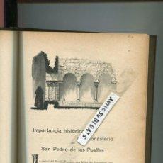 Libros antiguos: LIBRO ARQUITECTURA AÑO 1903 MONASTERIO DE LAS PUELLAS MONASTERIO DE LAS HUELGAS SU CONSRUCCION FOTOS. Lote 124260267