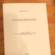 Libros antiguos: LA FACHADA DEL REAL HOSPITAL DE SANTIAGO EN CUENCA. DISEÑADA POR FRANCISCO DE MORA-LCV-(13€). Lote 126169387