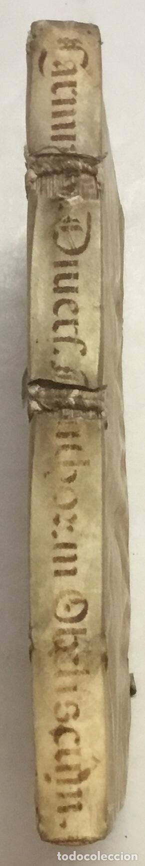 Libros antiguos: SEQUUNTUR CARMINA A VARIIS AUCTORIBUS IN OBELISCUM CONSCRIPTA ET IN DUOS LIBROS DISTRIBU.. ROMA,1587 - Foto 6 - 127831119