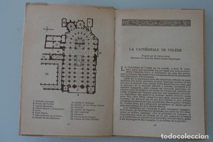 Libros antiguos: ANTIGUO LIBRO COLECCIÓN EL ARTE EN ESPAÑA Nº 25: CATEDRAL TOLEDO. ED. THOMAS 1913 PATRONATO TURISMO - Foto 3 - 130059139