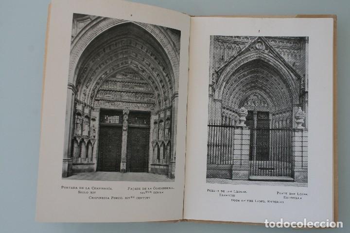 Libros antiguos: ANTIGUO LIBRO COLECCIÓN EL ARTE EN ESPAÑA Nº 25: CATEDRAL TOLEDO. ED. THOMAS 1913 PATRONATO TURISMO - Foto 4 - 130059139