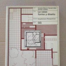 Libros antiguos: LA CADA: FORMA Y DISEÑO. CHARLES MOORE. GERALD ALLEN. DONLYN LYNDON.. Lote 131129808