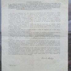 Libros antiguos: CATEDRAL DE LEÓN PARA EJECUCIÓN URGENTE DE LA REFORMA DE LA CATEDRAL. JUAN DE MADRAZO 1875. Lote 131180308