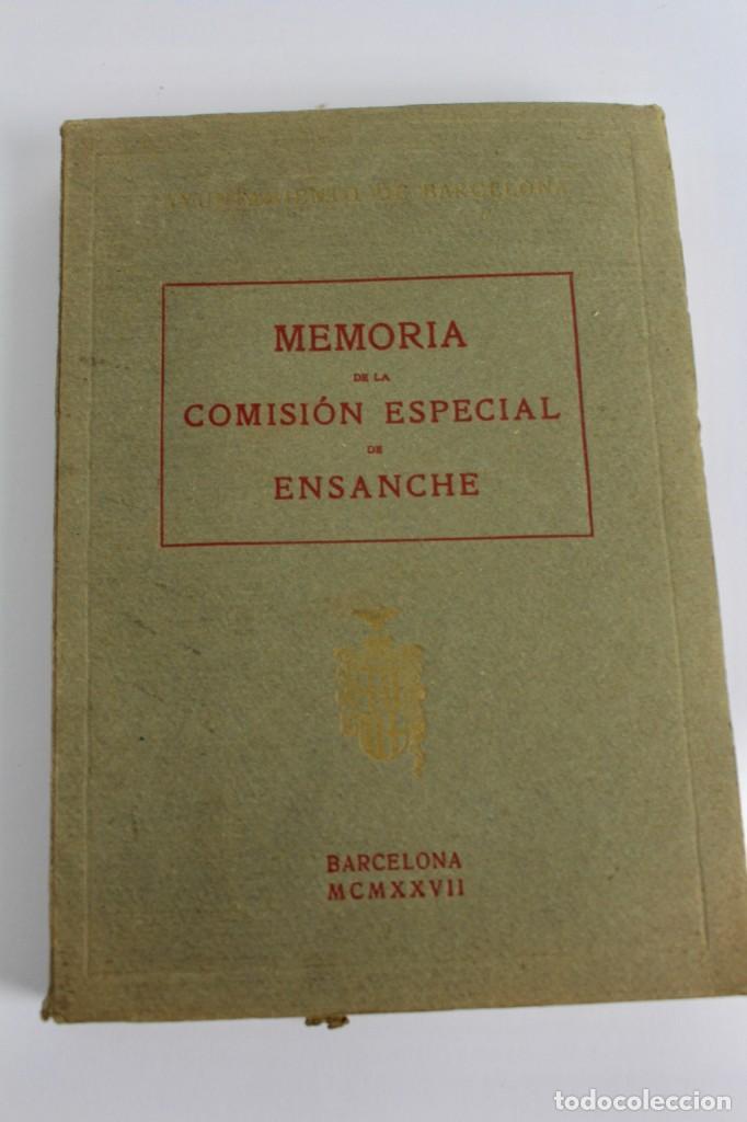 L- 5085. MEMORIA DE LA COMISION ESPECIAL DE ENSANCHE, RAFAEL RIO DE VAL. 1927. (Libros Antiguos, Raros y Curiosos - Bellas artes, ocio y coleccion - Arquitectura)