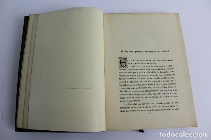 Libros antiguos: L- 5085. MEMORIA DE LA COMISION ESPECIAL DE ENSANCHE, RAFAEL RIO DE VAL. 1927. - Foto 3 - 133136322