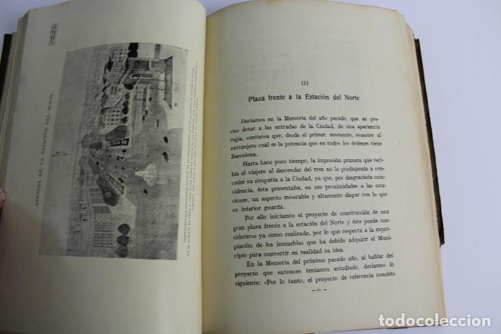 Libros antiguos: L- 5085. MEMORIA DE LA COMISION ESPECIAL DE ENSANCHE, RAFAEL RIO DE VAL. 1927. - Foto 4 - 133136322