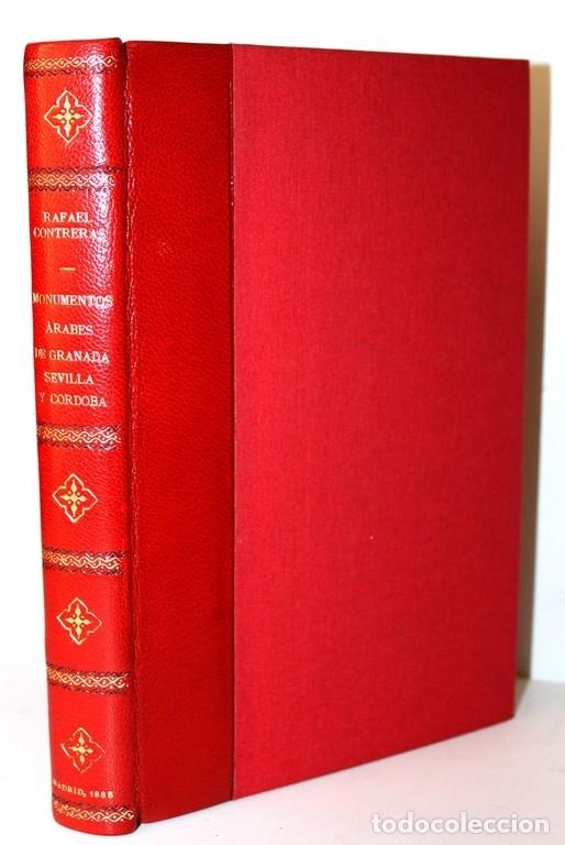 Libros antiguos: ESTUDIO DESCRIPTIVO DE LOS MONUMENTOS ÁRABES DE GRANADA, SEVILLA Y CÓRDOBA Ó SEA LA ALHAMBRA, EL... - Foto 4 - 123177703