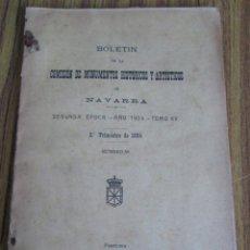 Libros antiguos: BOLETÍN DE LA COMISIÓN DE MONUMENTOS HISTÓRICOS Y ARTÍSTICOS DE NAVARRA SEGUNDA ÉPOCA – AÑO 1924 TOM. Lote 136055314