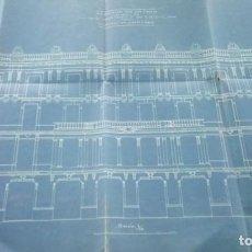 Libros antiguos: ARQUITECTURA MODERNISTA,PLANO AÑO 1913, ARQUITECTO,FRANCESC GUARDIA VIAL,FIRMADO,EPOCA ANTONI GAUDI. Lote 136204642