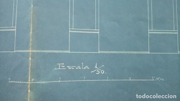 Libros antiguos: ARQUITECTURA MODERNISTA,PLANO AÑO 1913, ARQUITECTO,FRANCESC GUARDIA VIAL,FIRMADO,EPOCA ANTONI GAUDI - Foto 7 - 136204642