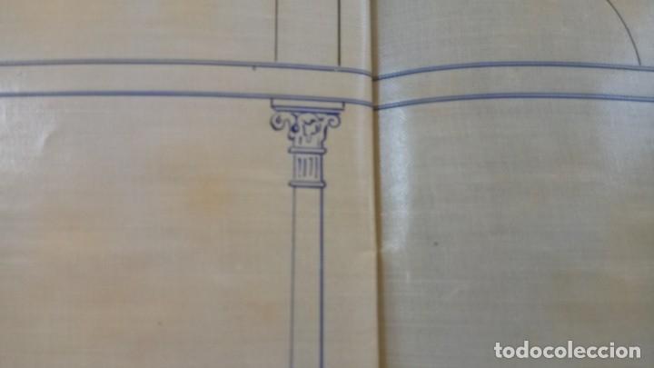 Libros antiguos: ARQUITECTURA MODERNISTA,PLANO ORIGINAL,ARQUITECTO,JOAQUIM BASSEGODA ,1912,FIRMADO,EPOCA ANTONI GAUDI - Foto 13 - 136201670