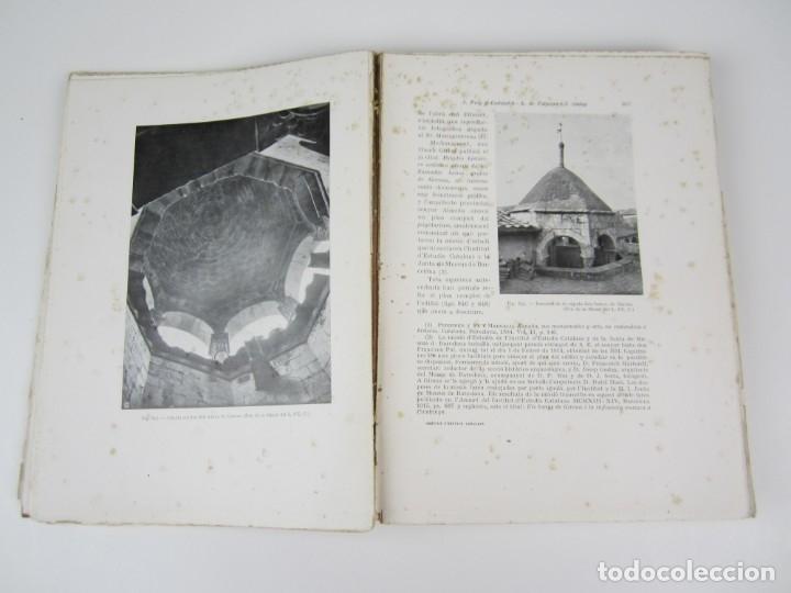 Libros antiguos: L'arquitectura romanica a Catalunya, vol III, segles XII y XIII, Puig i Cadafalch, J. Goday. 21x27cm - Foto 6 - 136487210