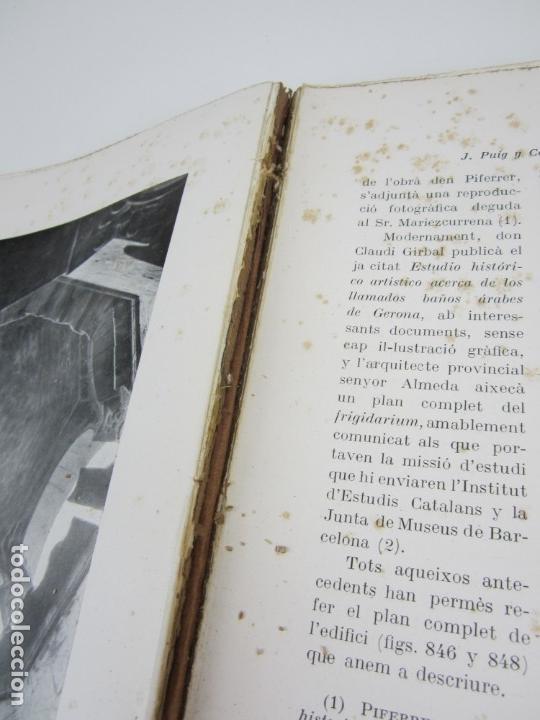 Libros antiguos: L'arquitectura romanica a Catalunya, vol III, segles XII y XIII, Puig i Cadafalch, J. Goday. 21x27cm - Foto 7 - 136487210