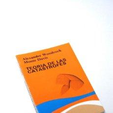 Libros antiguos: TEORIA DE LAS CATASTROFES WOODCOCK. Lote 136656218