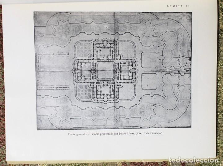 Libros antiguos: El Palacio de Oriente y sus jardines · Proyectos no realizados · 1935 - Foto 5 - 137625110