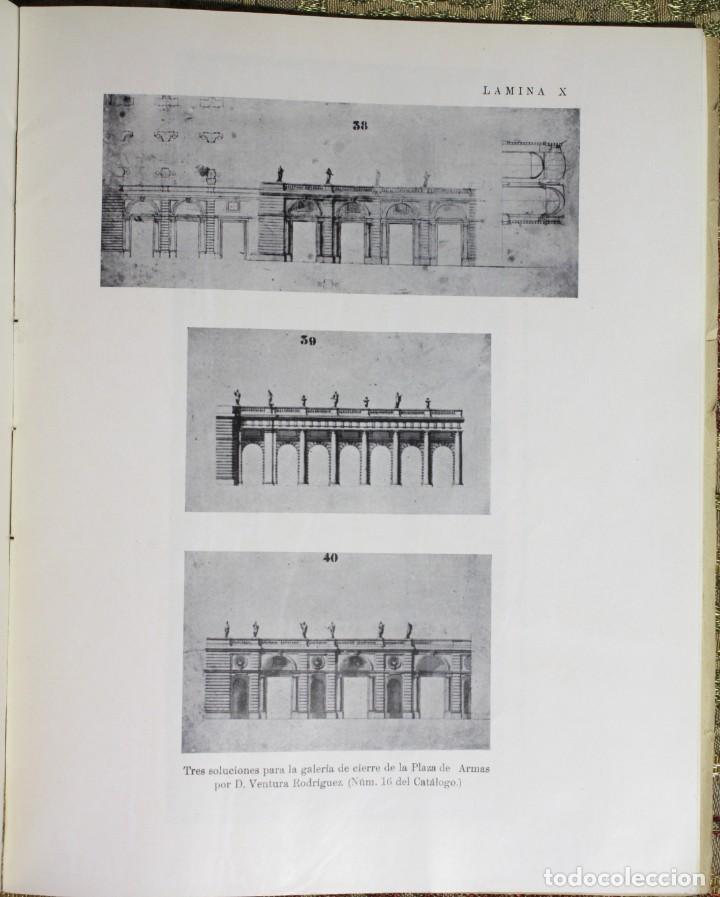 Libros antiguos: El Palacio de Oriente y sus jardines · Proyectos no realizados · 1935 - Foto 8 - 137625110