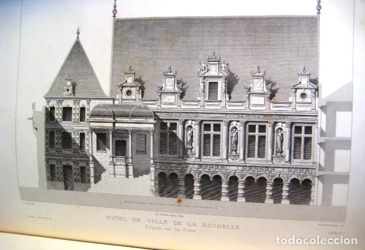 Libros antiguos: LE MONITEUR DES ARCHITECTES- 1867 (arquitectura- en frances) - Foto 5 - 138384282