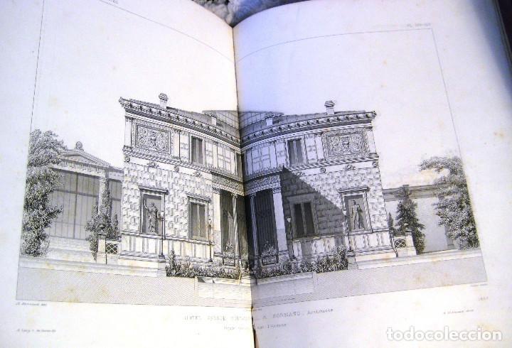 Libros antiguos: LE MONITEUR DES ARCHITECTES- 1867 (arquitectura- en frances) - Foto 6 - 138384282