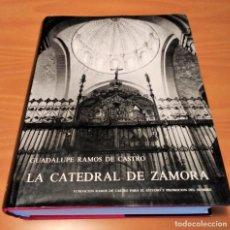 Libros antiguos: LA CATEDRAL DE ZAMORA.GUADALUPE RAMOS DE CASTRO. 1982.ZAMORA.. Lote 138720994