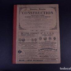 Libros antiguos: NOUVELLES ANNALES DE LA CONSTRUCTIÓN. 4º SERIE, TOMO 9, AÑO 1892. Lote 140383486