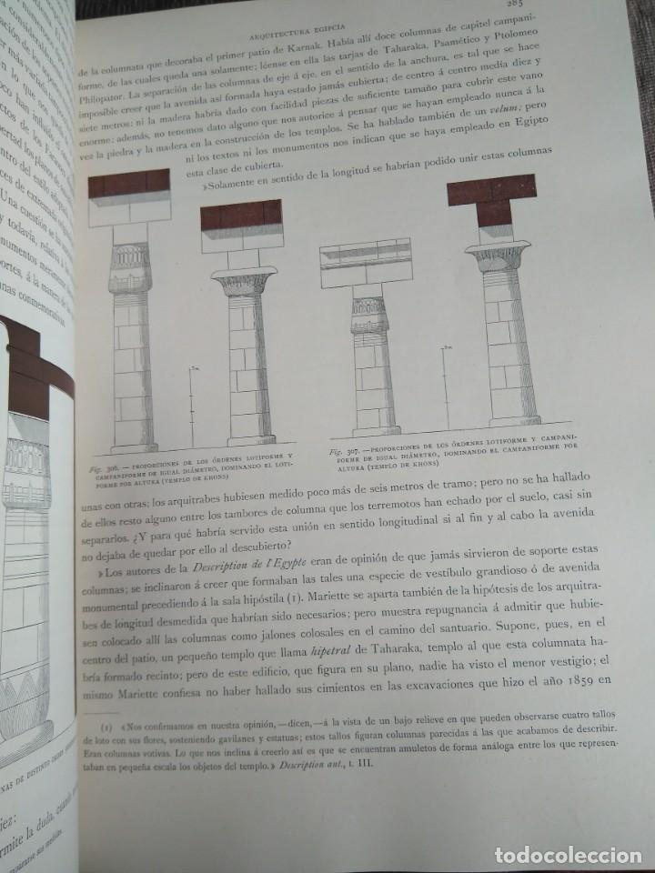 Libros antiguos: Arquitectura Tomo II. Historia General del Arte. Montaner y Simón. 1886. - Foto 6 - 140729998