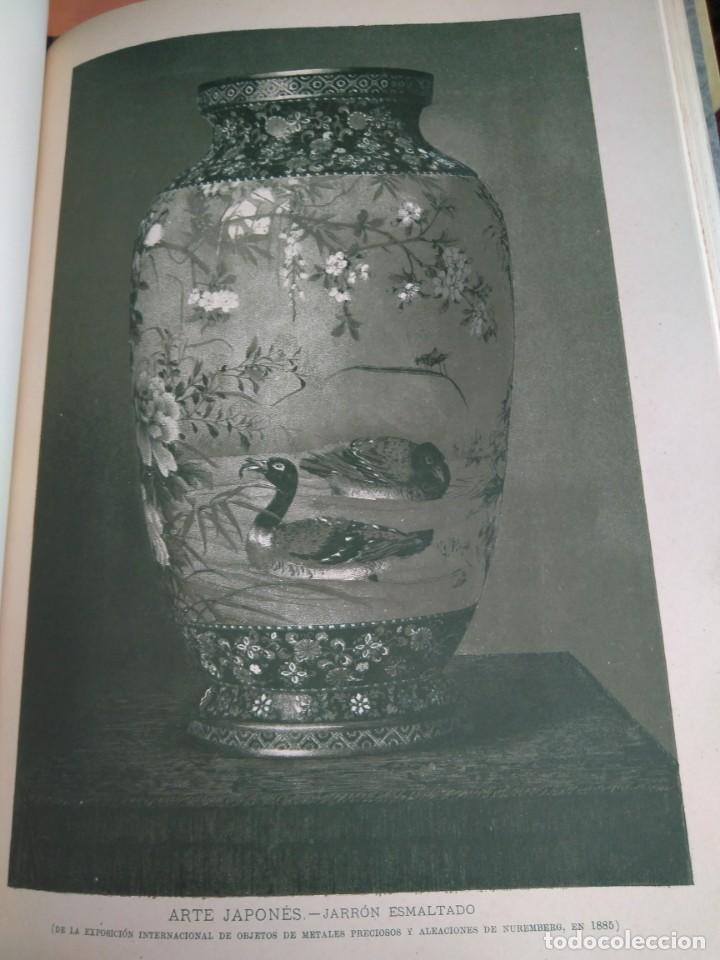 Libros antiguos: Arquitectura Tomo II. Historia General del Arte. Montaner y Simón. 1886. - Foto 11 - 140729998