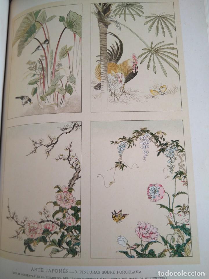 Libros antiguos: Arquitectura Tomo II. Historia General del Arte. Montaner y Simón. 1886. - Foto 12 - 140729998