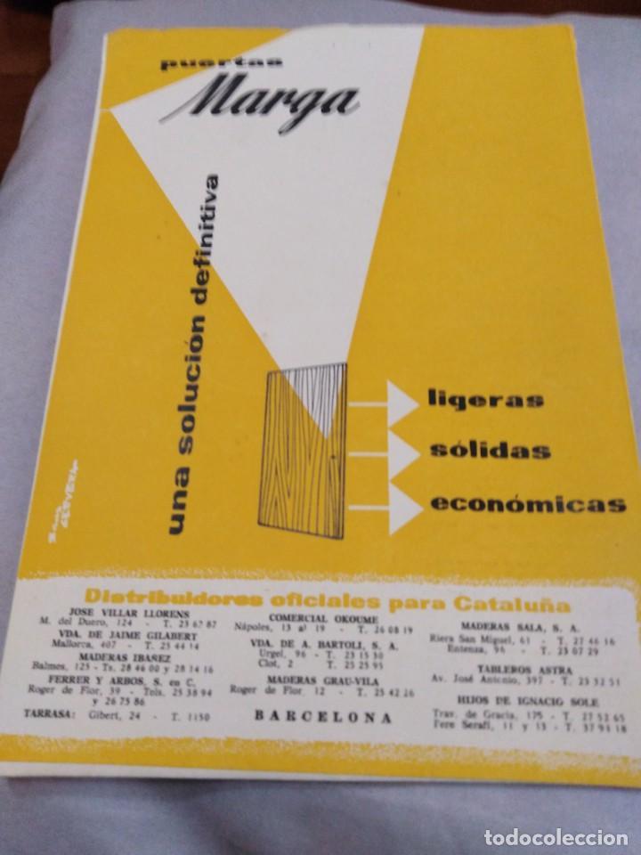 Libros antiguos: REVISTA CUPULA AÑO 1959. CONSTRUCCIÓN DECORACIÓN ARQUITECTURA. - Foto 2 - 141478298