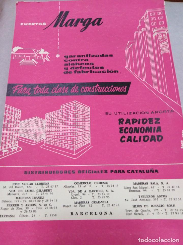 Libros antiguos: REVISTA CUPULA AÑO 1959. CONSTRUCCIÓN DECORACIÓN ARQUITECTURA. - Foto 2 - 141478426