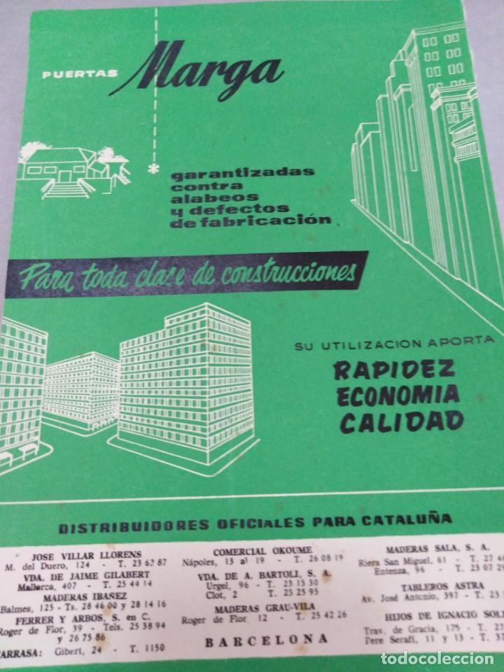 Libros antiguos: REVISTA CUPULA AÑO 1959. CONSTRUCCIÓN DECORACIÓN ARQUITECTURA. - Foto 2 - 141478550