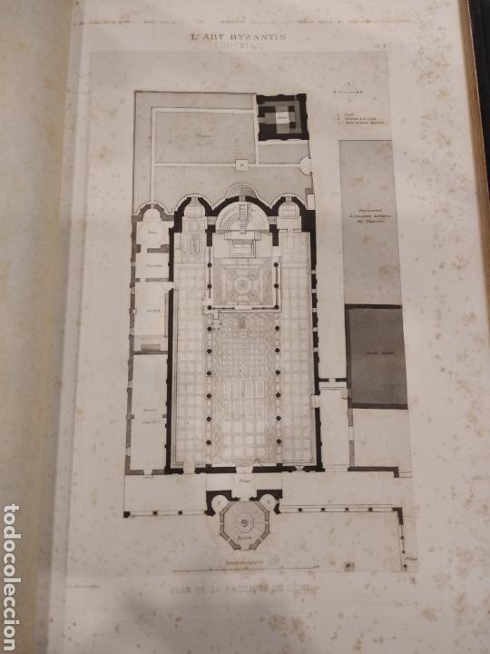 Libros antiguos: LART BYZANTIN daprès les monuments de lItalie, de lIstrie et de la Dalmatie. Paris. Vol IV - Foto 10 - 141940514