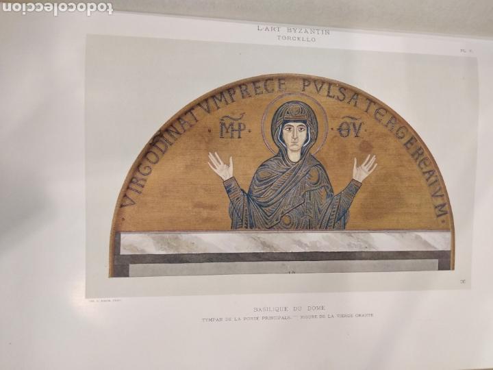 Libros antiguos: LART BYZANTIN daprès les monuments de lItalie, de lIstrie et de la Dalmatie. Paris. Vol IV - Foto 13 - 141940514