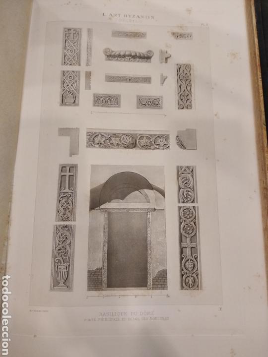 Libros antiguos: LART BYZANTIN daprès les monuments de lItalie, de lIstrie et de la Dalmatie. Paris. Vol IV - Foto 15 - 141940514