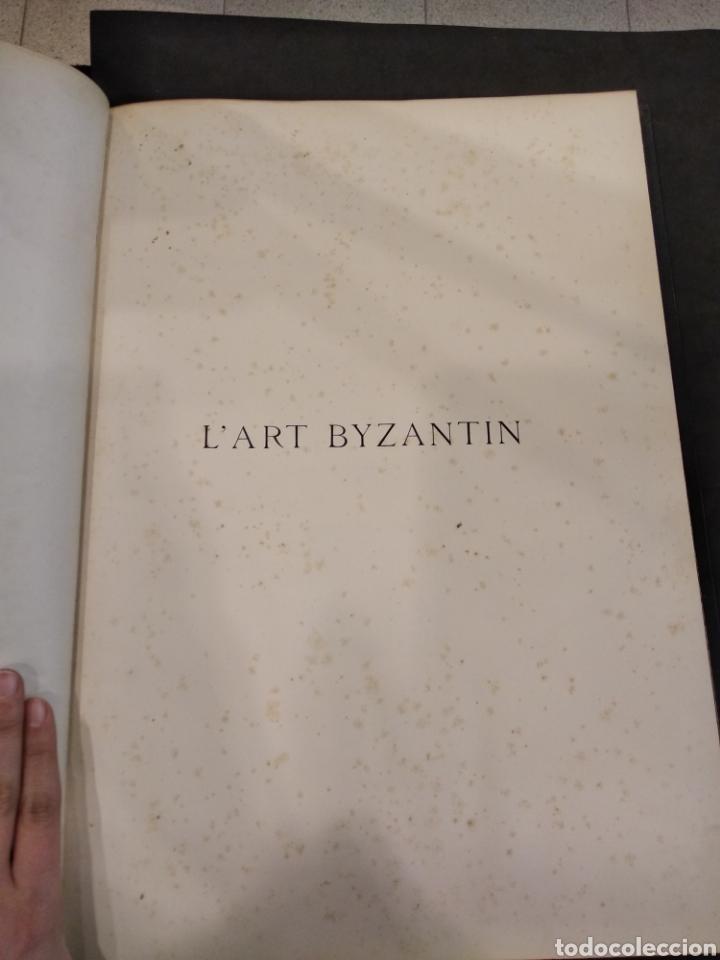 Libros antiguos: LART BYZANTIN daprès les monuments de lItalie, de lIstrie et de la Dalmatie. Paris. Vol IV - Foto 5 - 141940514