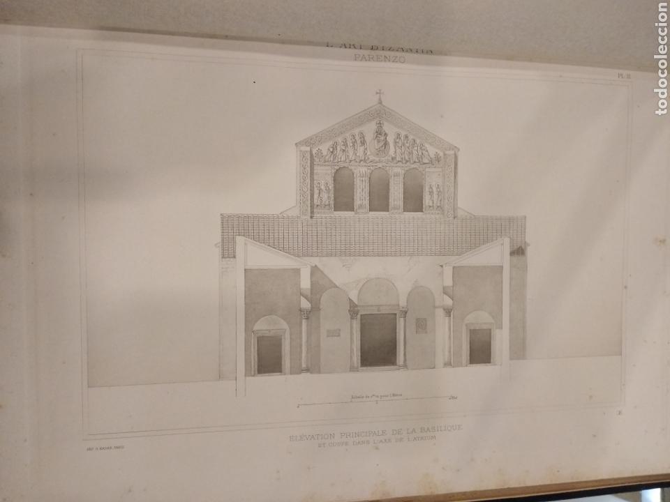 Libros antiguos: LART BYZANTIN daprès les monuments de lItalie, de lIstrie et de la Dalmatie. Paris. Vol II - Foto 10 - 141942232