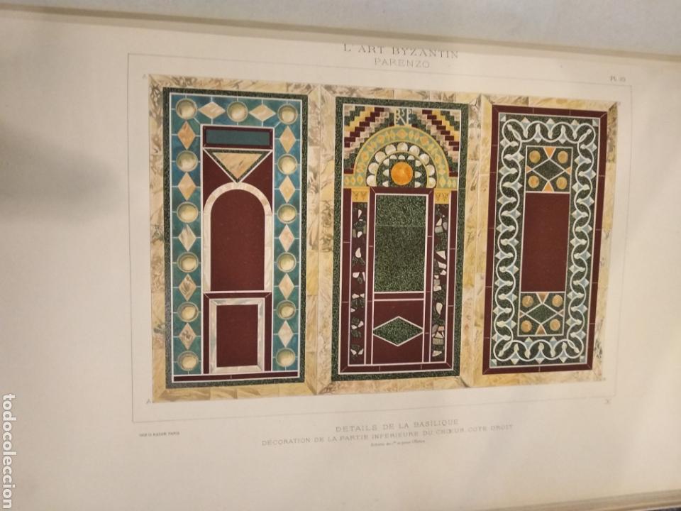 Libros antiguos: LART BYZANTIN daprès les monuments de lItalie, de lIstrie et de la Dalmatie. Paris. Vol II - Foto 12 - 141942232