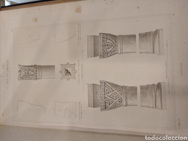 Libros antiguos: LART BYZANTIN daprès les monuments de lItalie, de lIstrie et de la Dalmatie. Paris. Vol II - Foto 11 - 141942232