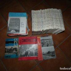 Libros antiguos: LOTE GRANDE 98 REVISTAS CONSTRUCCION: CIC, CUPULA, CONSTRUCCION VIDRIO Y CERAMICA BOLETIN ECONOMICO. Lote 142638266